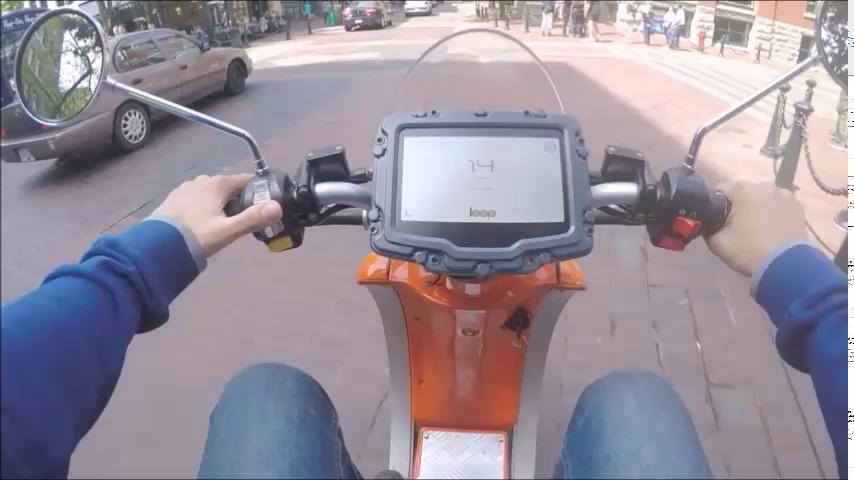 Loop Scooters Homepage Video